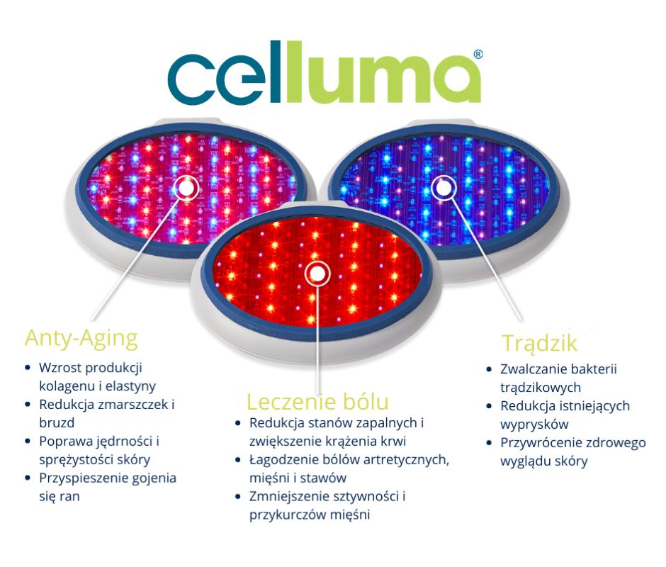 Celluma 3 światła BTMED